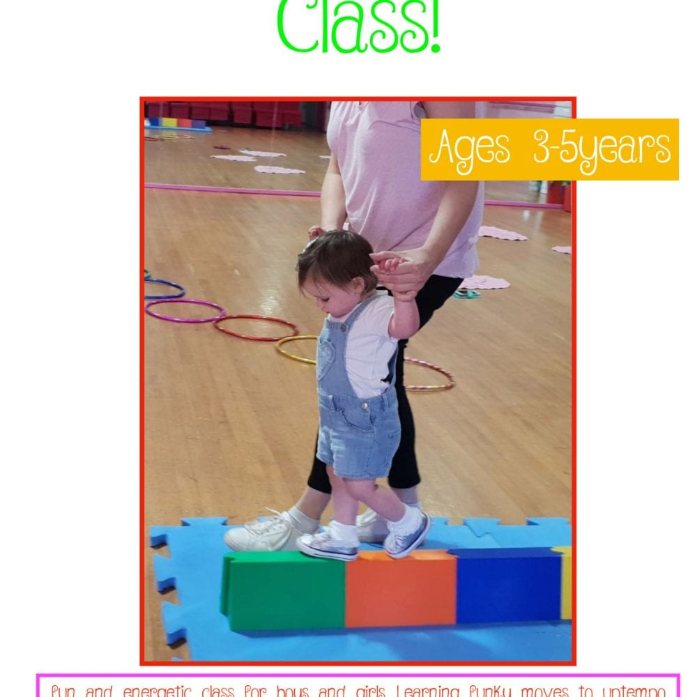 NEW FUNKY TUMBLER CLASS!