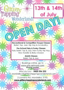 FREE OPEN DAY!!