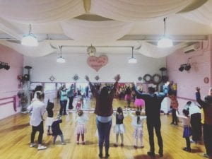 Glittery Tapping Wonderland Tap and dance Classes